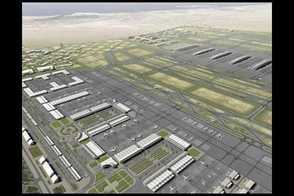 Imagen de Al Maktoum International Airport - The biggest Airport in the middle east. (under process). Dubai. EAU